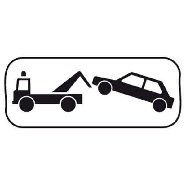 Panonceau mise en fourri re direct signal tique for Panneau d interdiction de stationner devant un garage