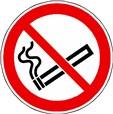 Panneau Interdiction de fumer ISO 7010 - P002