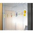 Adhésif de vitre - Motif jouets d´enfant - Longueur 1.1m