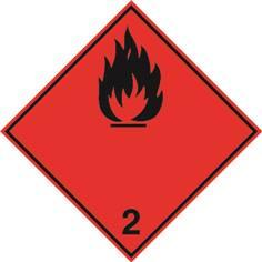 Gaz inflammables ADR 2.1