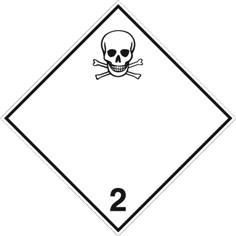 Gaz toxiques ADR 2.3