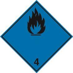 Gaz inflammables au contact de l´eau ADR 4.3