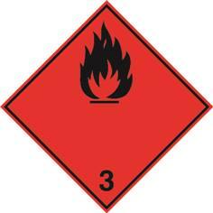 Inflammables (substances liquides inflammables) ADR 3