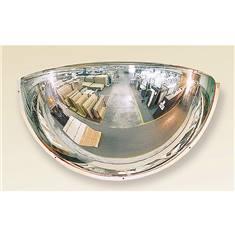 Miroir hémisphérique 1/4 sphère