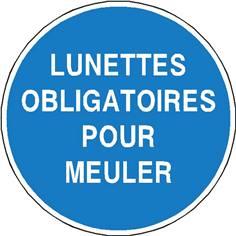Lunettes obligatoires pour meuler - STF 2336S