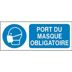 Port du masque obligatoire - STF 2322S