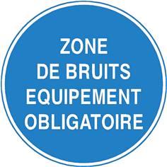 Zone de bruits équipements obligatoire - STF 3502S