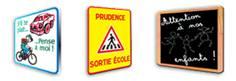Panneaux sécurité enfant