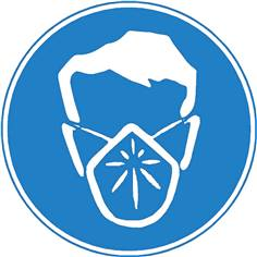 Masque anti-poussière obligatoire - STF 2231S