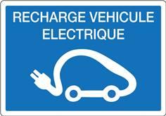 Panneau pour recharge de véhicules électriques