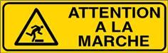 Attention à la marche - STF 3111S