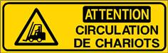 Attention Circulation de chariots - STF 3108S