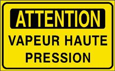 Attention Vapeur haute pression - STF 2908S