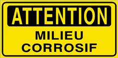 Attention Milieu corrosif - STF 2806S
