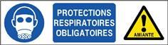 Protections respiratoires obligatoires - STF 2820S