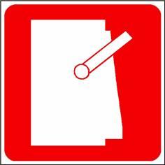 Panneau arrêt d´urgence - STF 1606S