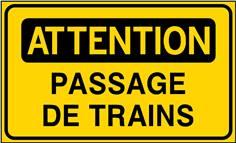Attention Passage de trains - STF 3528S