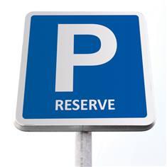 Kit de panneau de parking réservé