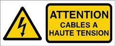 Attention cables à haute tension - STF 2408S