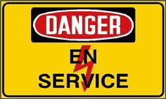 Danger en service - STF 2438S