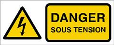 Danger sous tension - STF 2407S