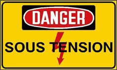 Danger sous tension - STF 2428S