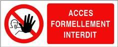 Accès formellement interdit - STF 3207S