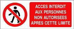 Accès interdit aux personnes non autorisées après ... - STF 3211S