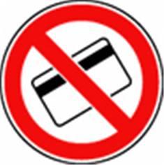 Carte magnétique interdite - STF 3235S