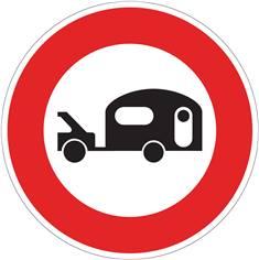 Panneau Accès interdit aux véhicules - B9i