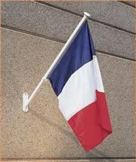 Drapeau tricolore français - 100 x 150 cm