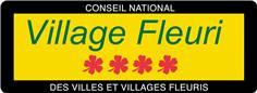 Panneau villages fleuris - Classe 1 - H 350 x L 950 mm