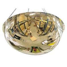 Miroir hémisphérique suspendu 1/2 sphère pour entrepôts