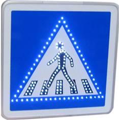 Panneaux lumineux C20a à LEDs pour l´indication de passage piéton