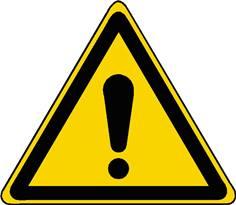 Panneau Danger ISO 7010 - W001