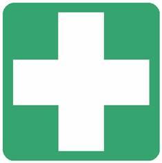Panneau premiers secours ISO 7010 - E003