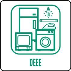 Panneaux déchetterie - DEEE - 350 x 350 mm