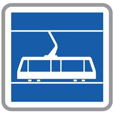 Panneau Passage de Tramways - C7