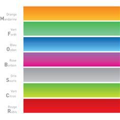 Adhésif coloré semi transparent pour vitres - Vigicone