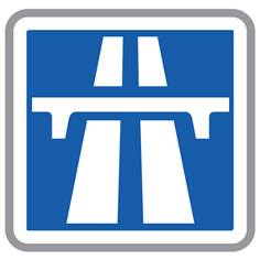Panneau d'autoroute - C207