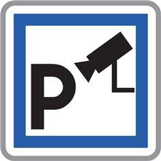 Panneau Parking Sous Video Surveillance - CE9