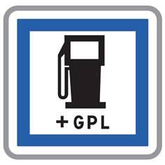 Panneau Poste de Distribution de Carburant GPL - CE15C
