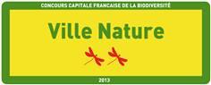 Panneau Ville Nature - Concours Capitale de la Biodiversité