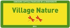 Panneau Village Nature - Concours Capitale de la Biodiversité