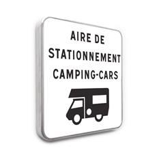 Panneau Aire De Stationnement Camping