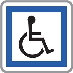 Panneau Installations accessibles aux personnes handicapées - CE14