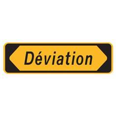 Panneau Déviation - KD22a avec cache