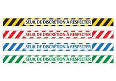 Adhésif pour sol Seuil De Discrétion à Respecter