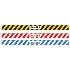 Adhésif pour sol Danger