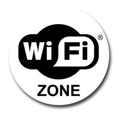 Autocollant Zone Wifi